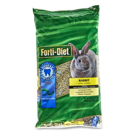Forti-Diet Pet Rabbit Food, 10 lbs. - Rabbit's Foot For Sale