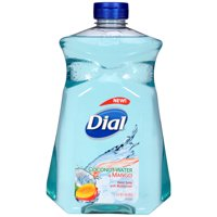 Dial Liquid Hand Soap with Moisturizer, Coconut Water & Mango, 52 Ounce