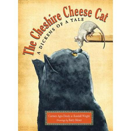 The Cheshire Cheese Cat - Halloween Cheese Ball Cat
