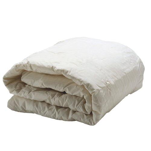 AllerEase Decorative Allergy King Comforter, Ivory