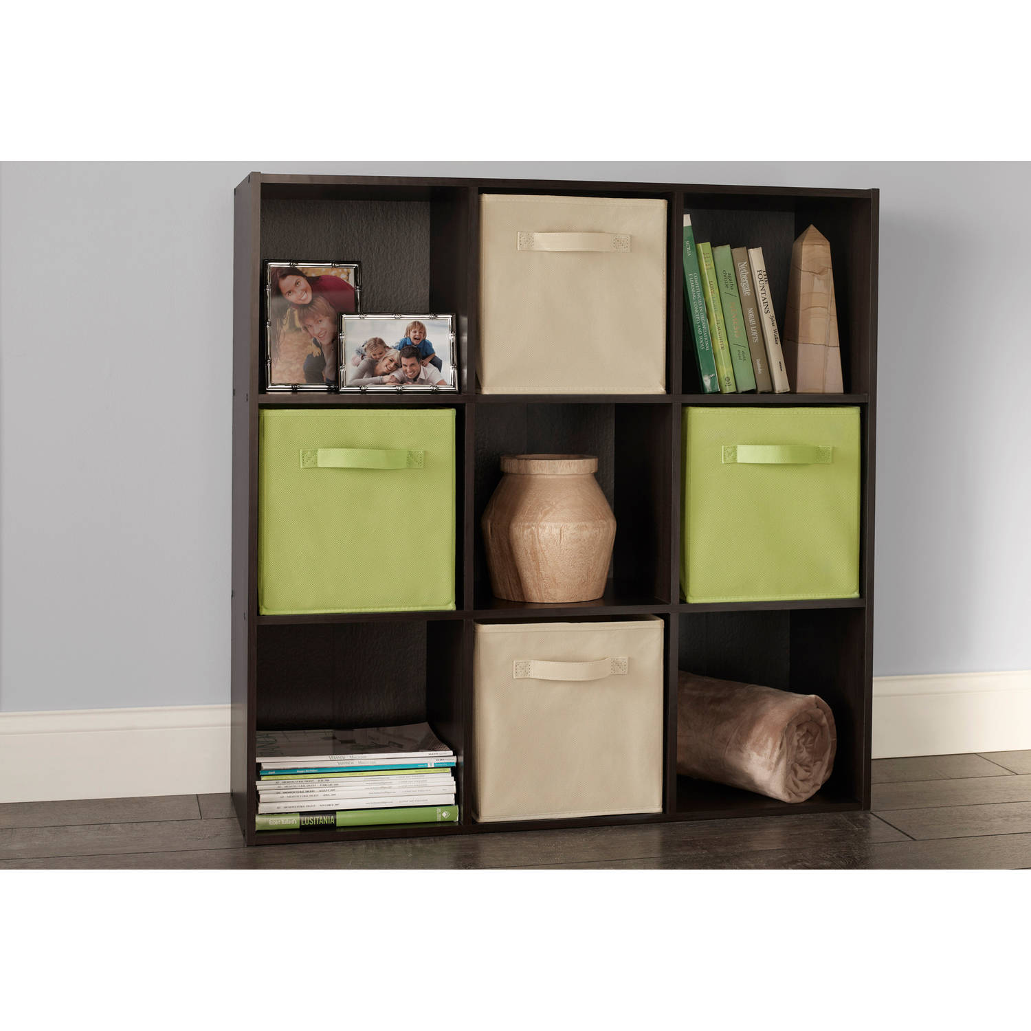 ClosetMaid Cubeicals 9-Cube Organizer, Espresso by Generic