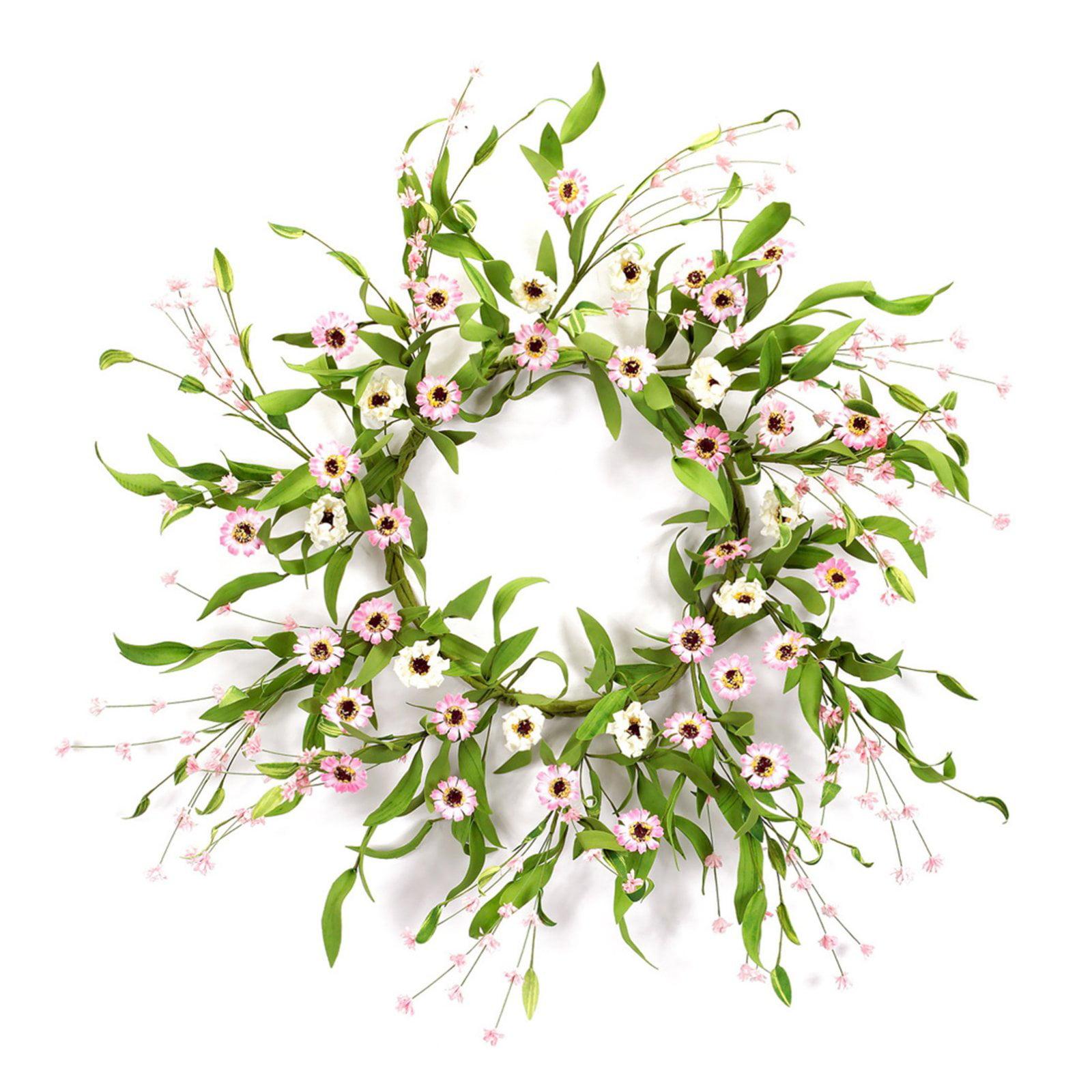 Melrose International Wild Flower Wreath