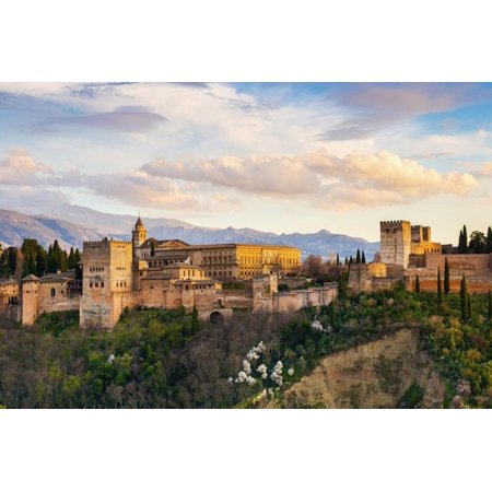 Spain, Andalusia, Granada, Alhambra Palace Print Wall Art By Jordan Banks](Alhambra Palace Halloween)