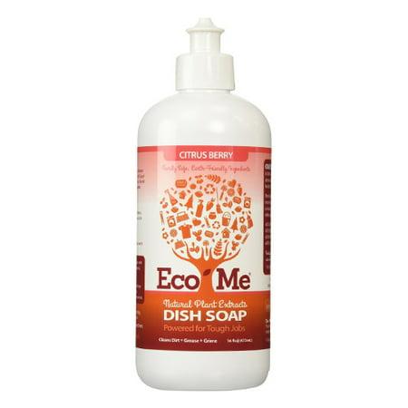 Eco me Dish Soap Citrus Berry, 16 oz