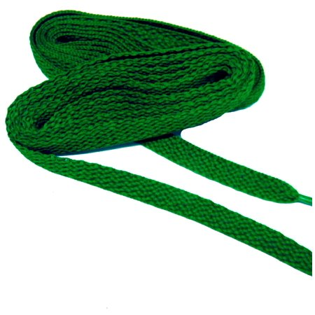 63 Inch 160 cm Kelly Green proATHLETIC™ flat 8mm Chuck Taylor Converse style sneaker shoelaces -(2 Pair Pack) - Superhero Chuck Taylors