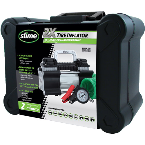 Slime 2X Heavy Duty Tire Inflator