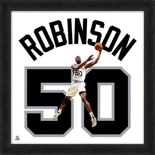 NBA - David Robinson San Antonio Spurs 20x20 Uniframe Photo