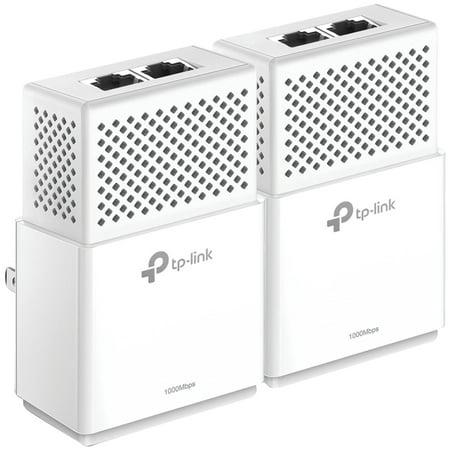 Tp-Link TL-PA7020 KIT-V2 AV1000 2-Port Gigabit Powerline Adapter (Best Powerline Network Adapter Kit)