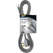 Power Zone OR210606 6 Ft. Garbage Disposal Cords, Grey
