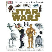 Ultimate Sticker Book: Star Wars : More Than 60 Reusable Full-Color Stickers