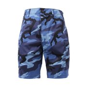 Colored Camouflage Military Style BDU Shorts
