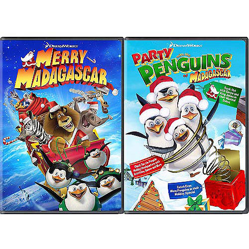Merry Madagascar / Party With The Penguins (Special Collector's Edition 2-Pack) (Exclusive) (Widescreen, Full Frame)