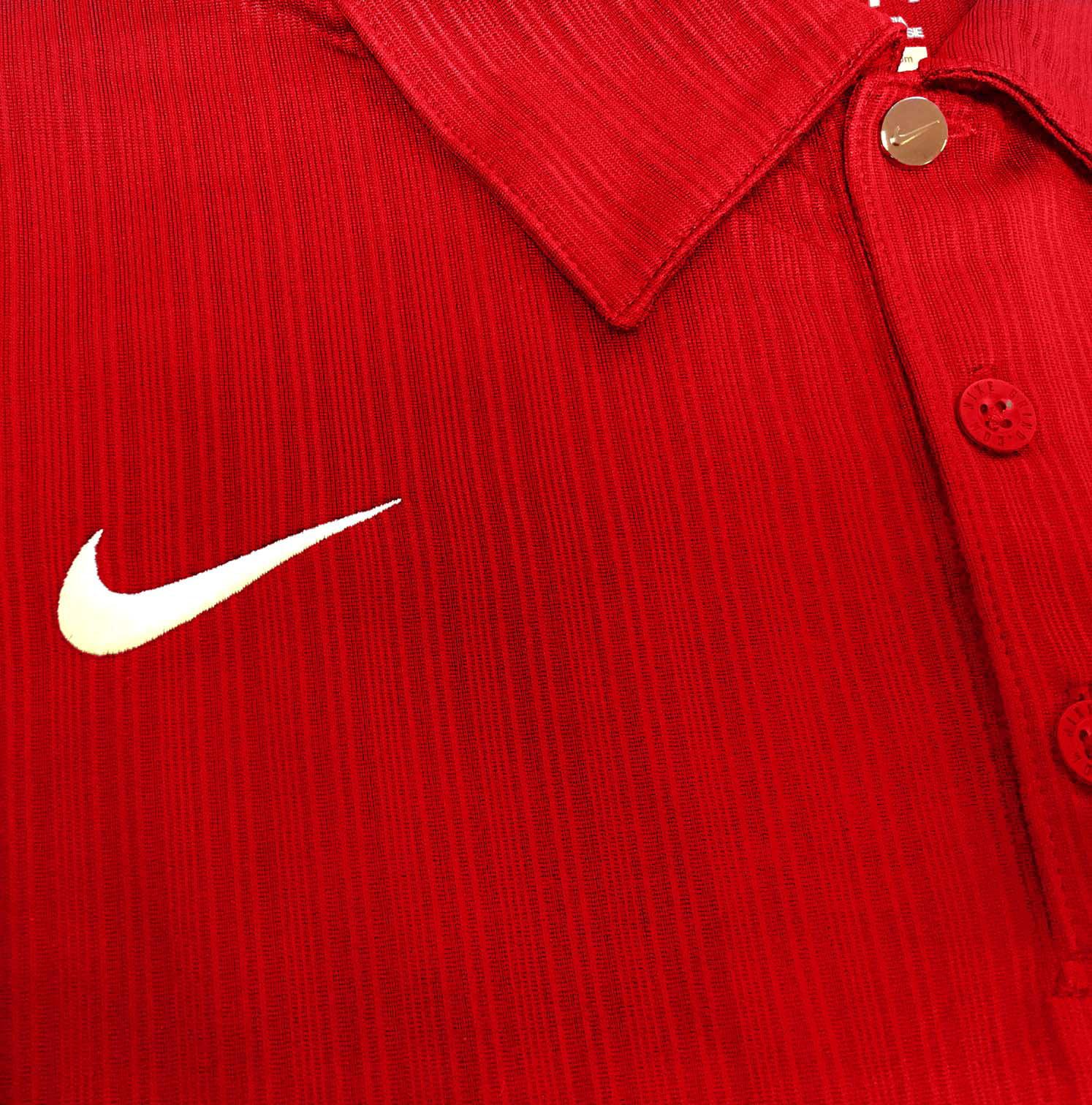 Nike Red Polo T Shirt Lauren Goss