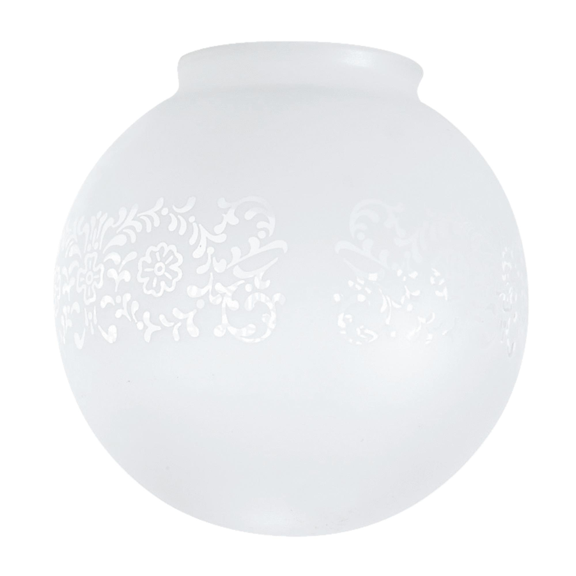 Westinghouse Victorian Glass Ceiling Globe Shade