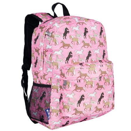 Wildkin Horses in Pink 16 Inch Backpack