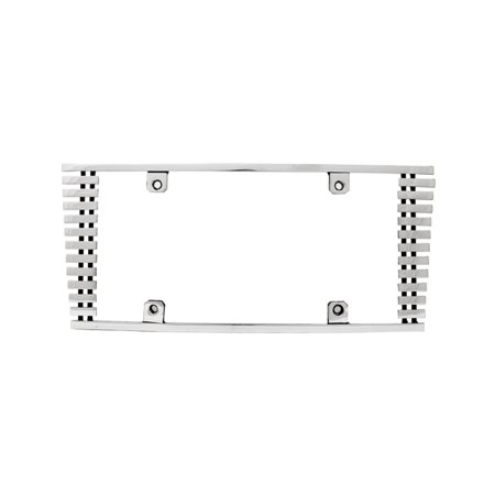 Edge Billet - IPCW CWL-81HC 8mm BILLET LICENSE PLATE FRAME SLOPED EDGE