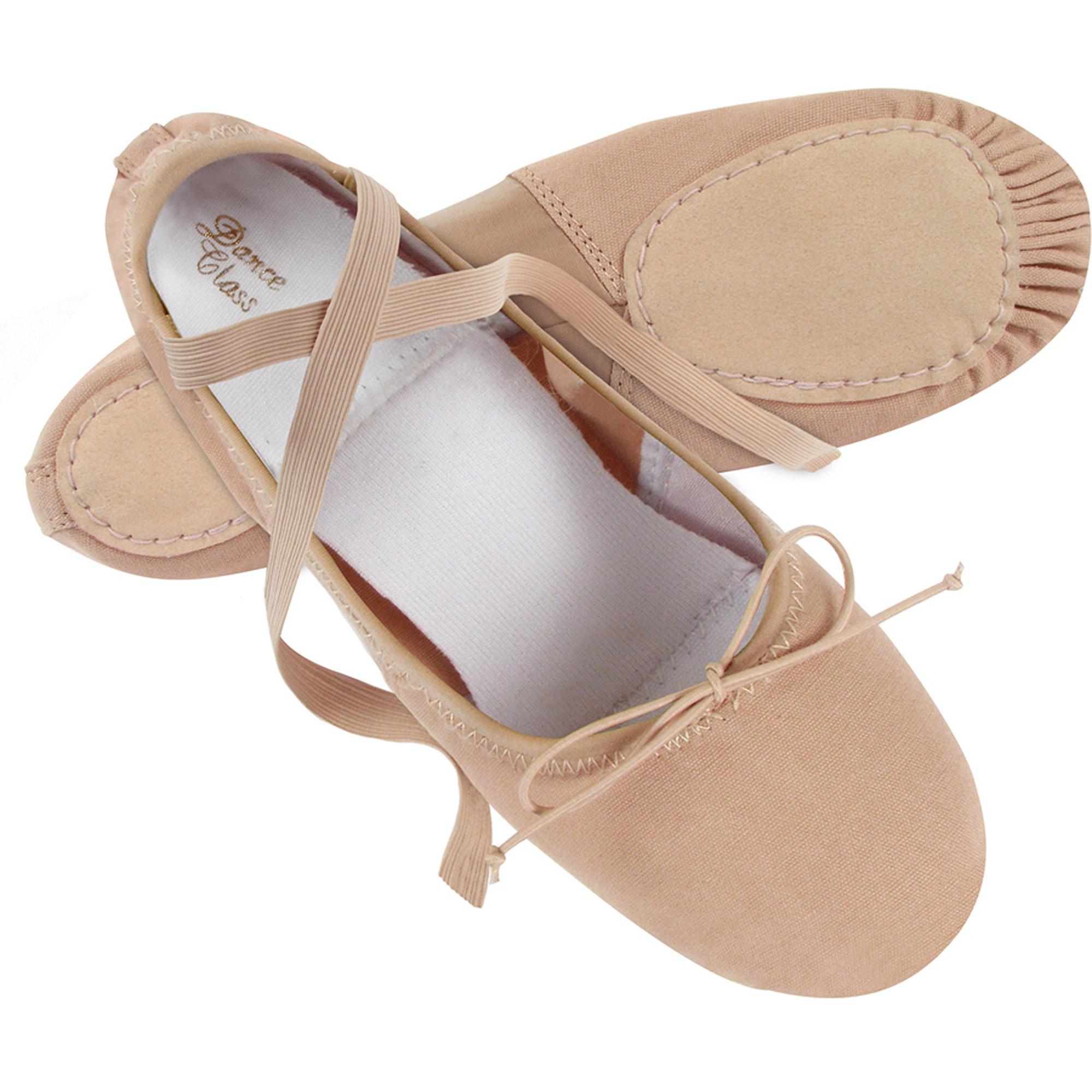 Dance Class by Trimfoot Women's Canvas Ballet Shoe