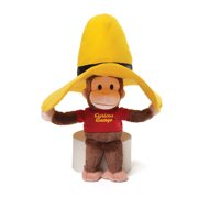 Gund Curious George Plush in Yellow Hat