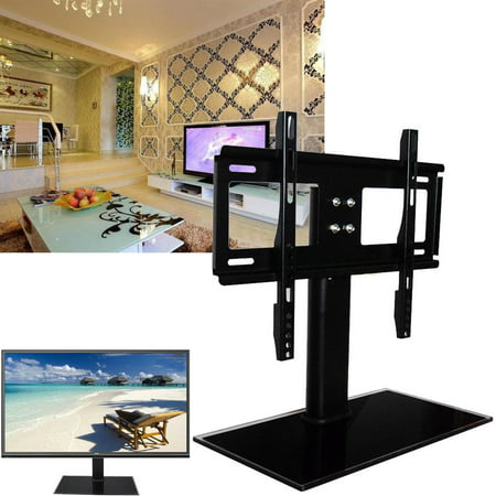 LHCER Table Top TV Stand For 26 to 32 Inch Flat TV LCD LED Plasma Rotating Universal TV Tabletop Basket Samsung Sony LG vizio Samsung Plasma Tv Stands