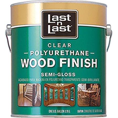 Absolute Coatings 53201 1 Gallon  Semi Gloss Last N Last Polyurethane wood