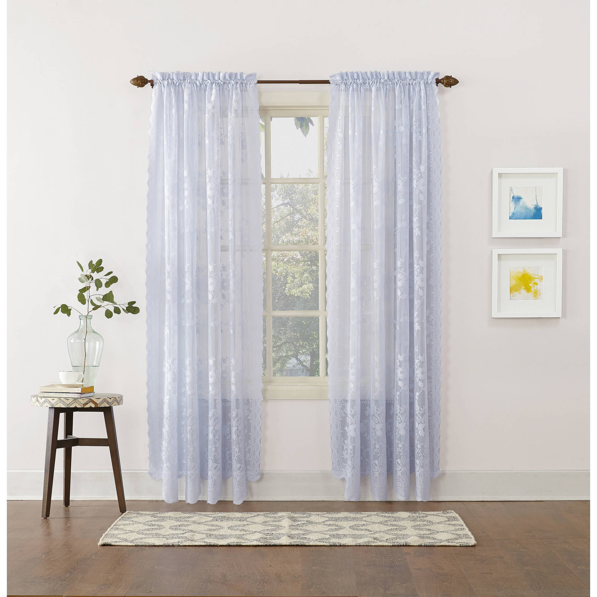 918 alison sheer lace curtain panel