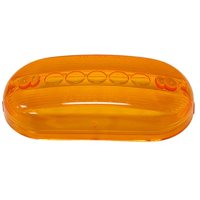 Peterson Fluxes 134-15A Peterson 13415A Clearance Lens, #135, Oval, Amber Rv