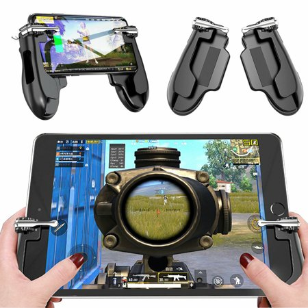PUBG Mobile Controller for Ipad, EEEkit Sensitive Shoot Aim Tablet Gamepad Rotatable Trigger, Upgraded G7 Version Compatible 4.5-12.9 inch Tablet & (Best Shooting Games For Tablet)
