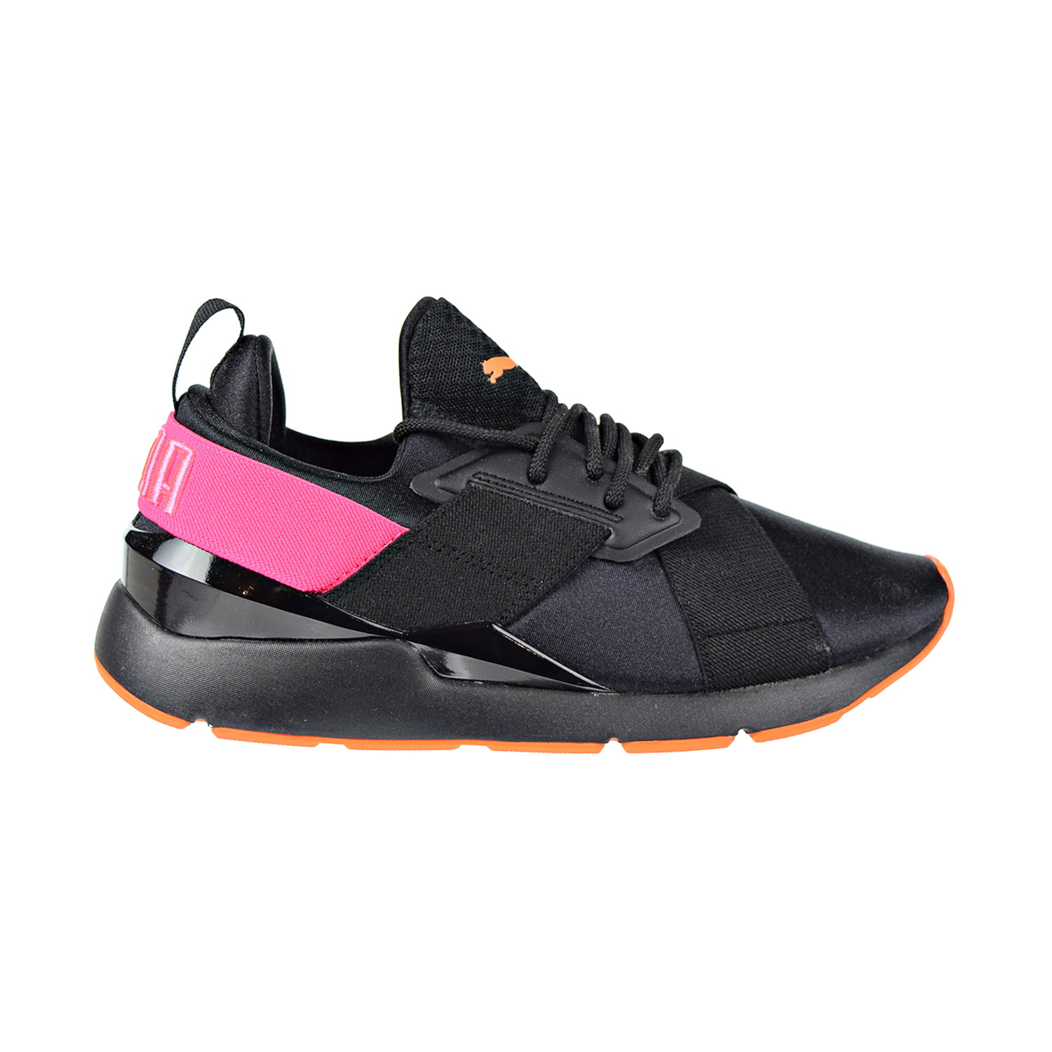 The Chase Big W 16: Puma Muse Chase Big Kids Shoes Puma Black/Knockout