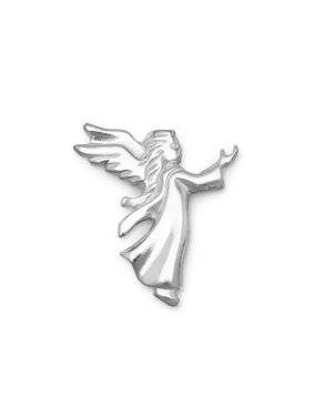 Small Angel Lapel Pin Sterling Silver