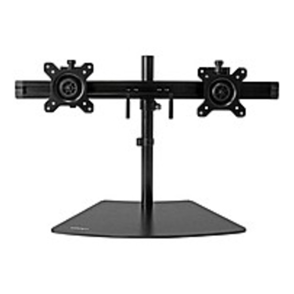 """Refurbished StarTech.com Dual Monitor Stand - Crossbar - Supports Monitors up to 24"""" - Vesa Mount - Adjustable Computer Monitor Arm - Up to 24"""" Screen Support - 17.64 lb Load Capacity - Flat Panel"""