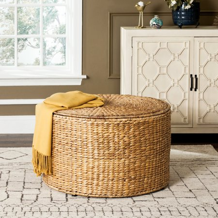 Large Natural Wicker - Safavieh Jesse 28.5