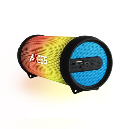 Axess HIFI BT Media Speaker with Colorful RGB Lights in
