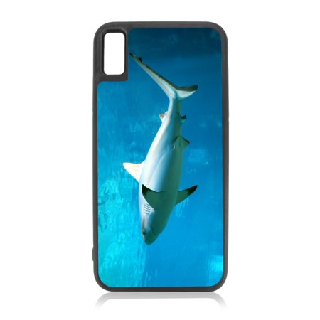 brand new 4c187 c9074 Reef - Tipped Shark Design Black Rubber Case for iPhone XR - iPhone XR  Phone Case - iPhone XR Accessories