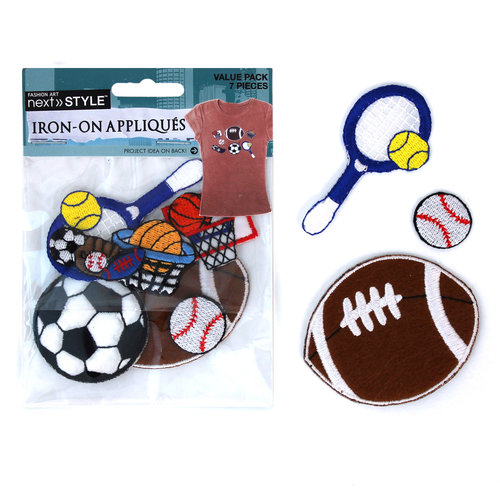 Next Style Applique Variety Pack, Sports