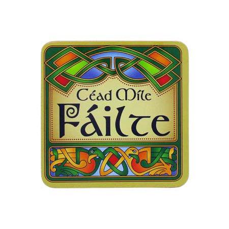 Clara Celtic Coasters Cead Mile Failte