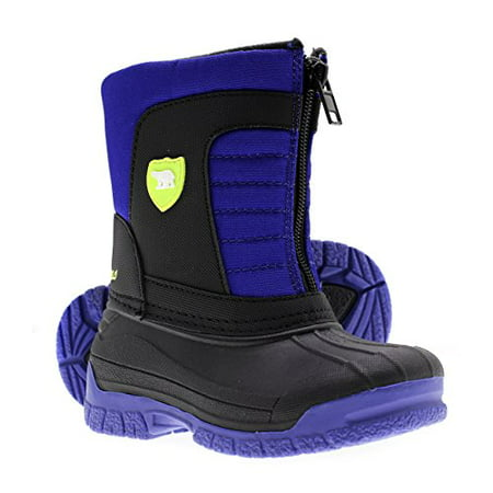 Arctic Shield Warm Insulated Waterproof Durable Easy On Off Winter Snow Boots  Toddler Kids