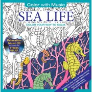 Color With Music: Mystic Sea Color Your Way To Calm by