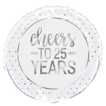 25th Anniversary Balloon (Foil