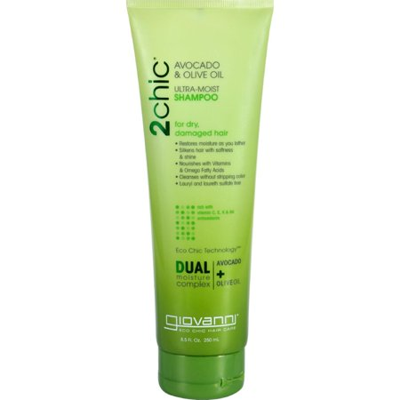 Giovanni Hair Care Products Shampoo - 2chic Avocado And Olive Oil - 8.5 (Olive Oil Hair Care)
