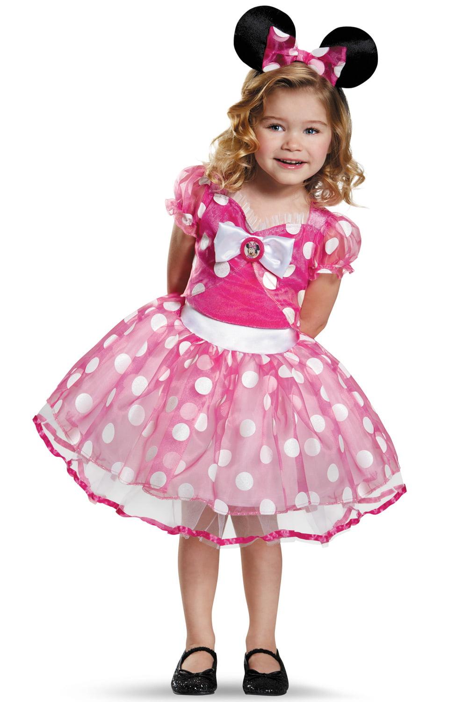 sc 1 st  Walmart & Pink Minnie Tutu Deluxe Girls Child Halloween Costume - Walmart.com