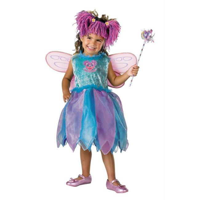 Costumes For All Occasions Dg6915M Abby Cadabby Deluxe 3T To 4T - image 1 of 1