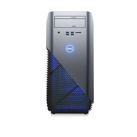 Dell Inspiron Desktop, AMD Ryzen 7 1700X, 3 8GHZ, AMD Radeon RX 580 8GB  GDDR5 Graphic Card, 8GB DDR4 Memory, 1TB HD, i5675-A957BLU-PUS - Gaming  Bundle