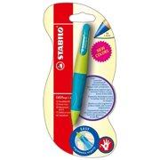 STABILO EASYergo Right Handed 1.4 Mechanical Pencil - Neon Green/Aquamarine (Blister Pack)