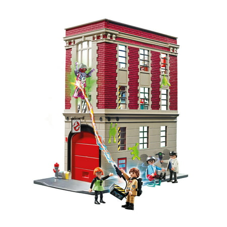 PLAYMOBIL Ghostbusters Firehouse](Ghostbusters Cupcakes)