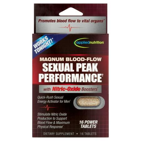 APPLIED NUTRITION sang-Flow Magnum Peak Performance sexuelle supplément diététique alimentation comprimés, 16 count