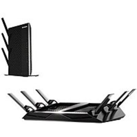 Netgear Nighthawk X6 R8000 100Nasbn 3 2 Gbps Wireless Router   4 Port   Black