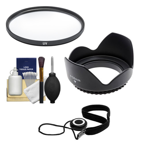Essentials Bundle for Canon EF 50mm f/1.4 USM Lens with Filter + Lens Hood + Accessory Kit