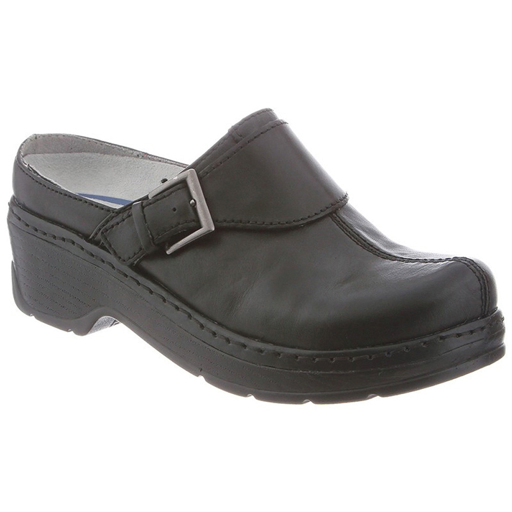 Klogs Austin Womens Clogs Black Smooth by Klogs Footwear