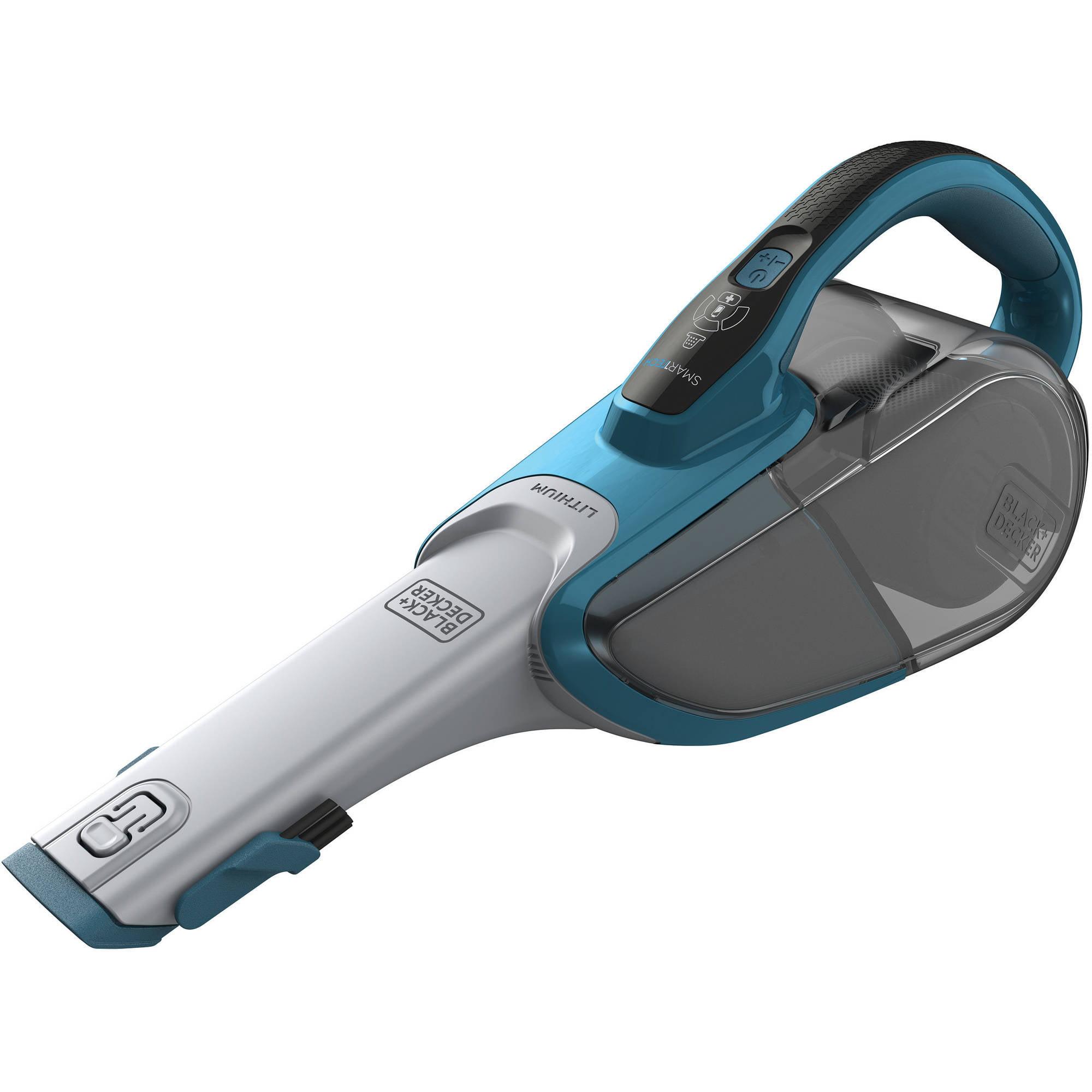 Black and Decker Smartech Lithium Hand Vacuum, HHVJ315BMF22