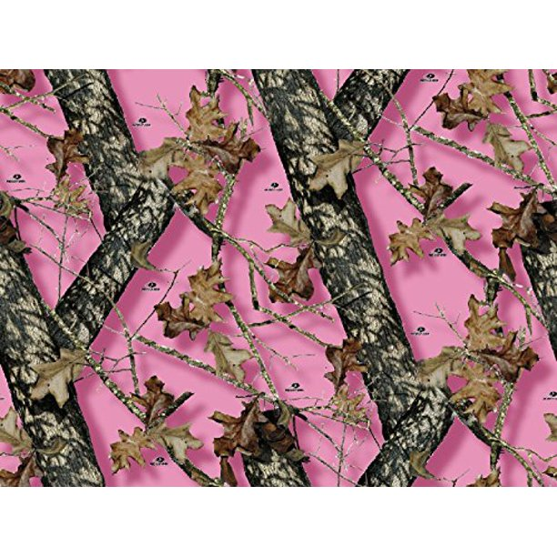 Cool Mossy Oak Pink Camo Branch Edible Cake Topper Frosting 1 4 Sheet Personalised Birthday Cards Paralily Jamesorg